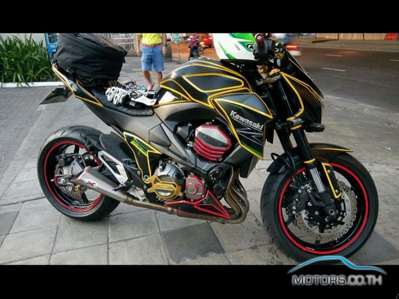 New used secondhand motorbikes kawasaki z800 2014