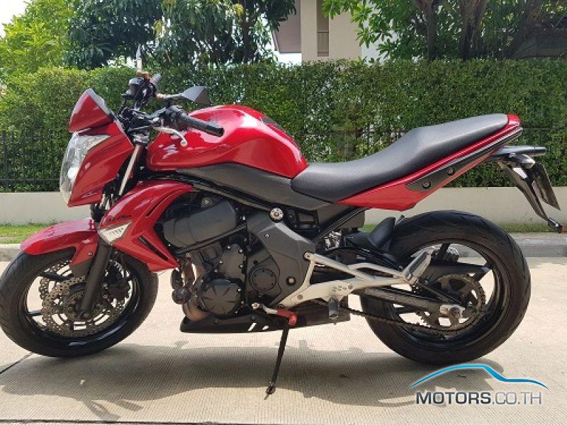 Kawasaki Er-6n - 2010 - Laranja Impecável - R$ 16.890 em