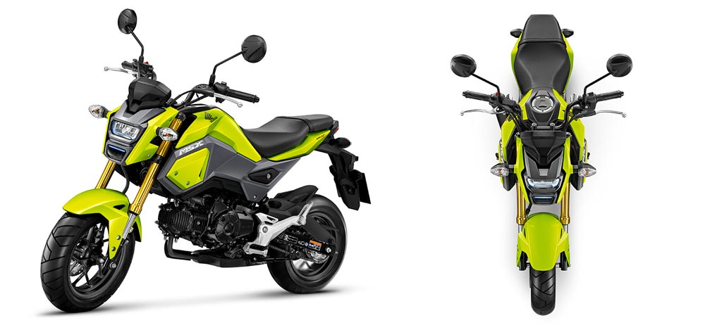All new Honda MSX 125SF 2016