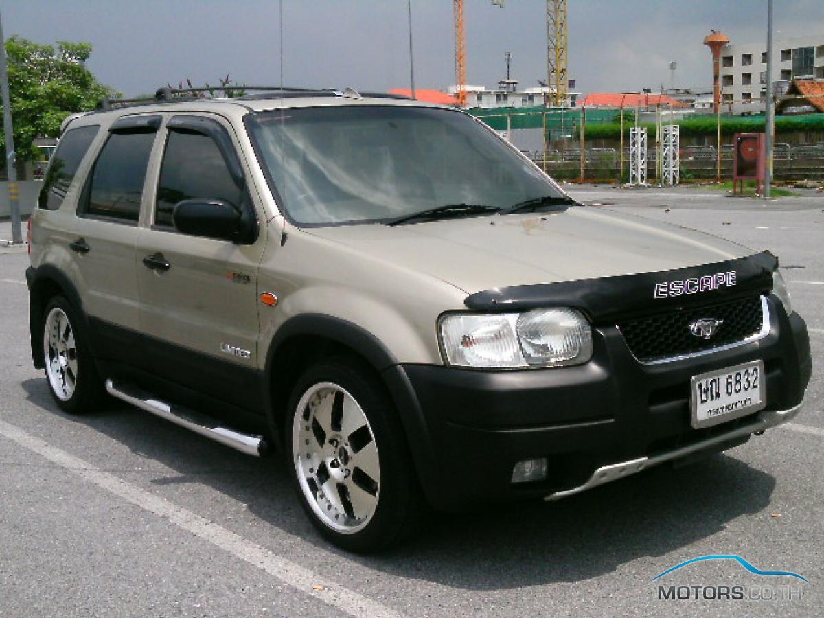 รถมือสอง, รถยนต์มือสอง FORD ESCAPE (2004)