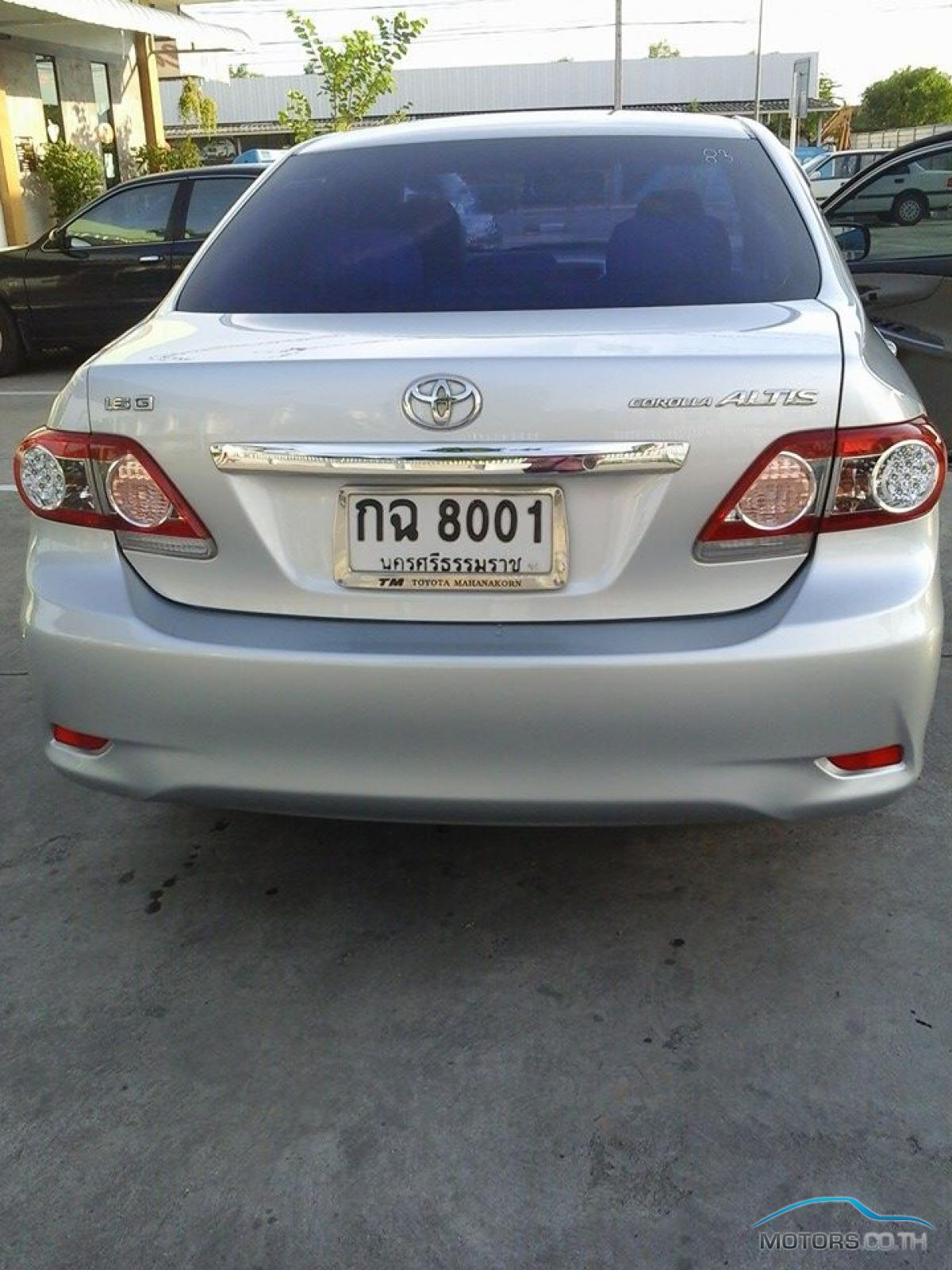 รถใหม่, รถมือสอง TOYOTA COROLLA (2009)