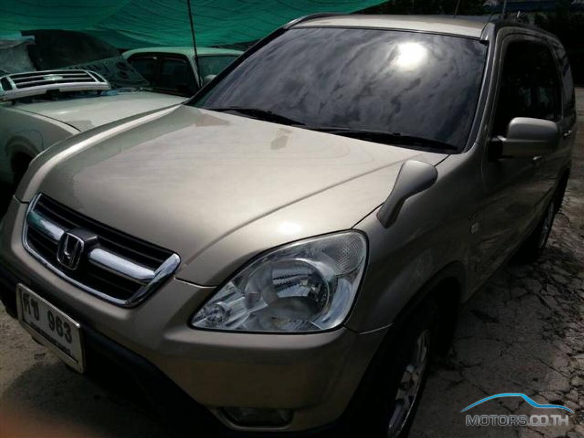 รถใหม่, รถมือสอง HONDA CR-V (2004)