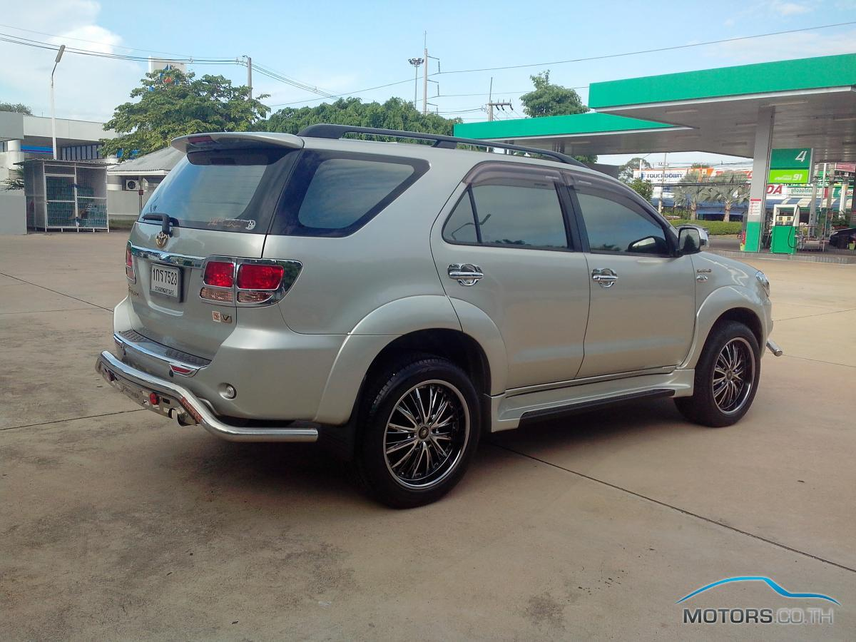 Toyota Fortuner 2007 Motors Co Th