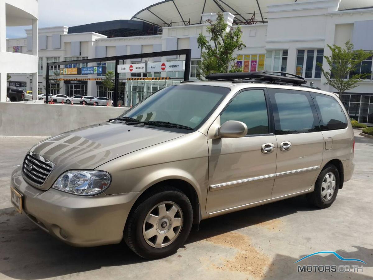 รถใหม่, รถมือสอง KIA CARNIVAL (2002)