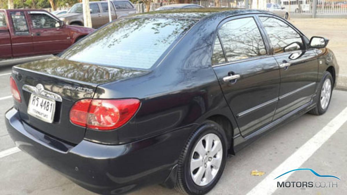 รถมือสอง, รถยนต์มือสอง TOYOTA COROLLA (2005)