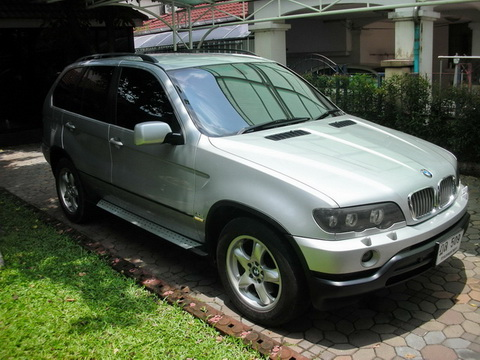 New, Used & Secondhand Cars BMW X3 (2002)