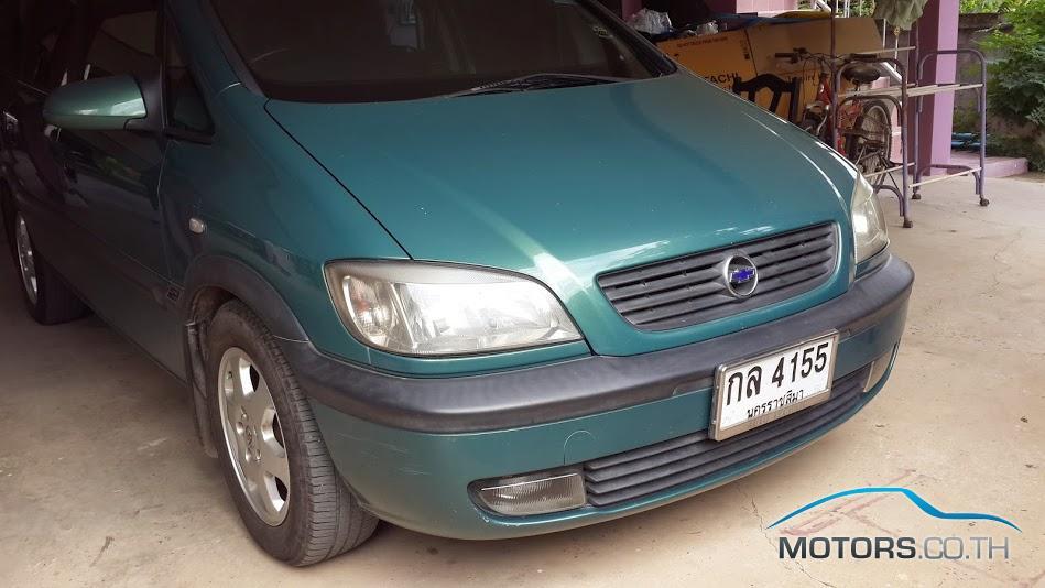 รถใหม่, รถมือสอง CHEVROLET ZAFIRA (2002)