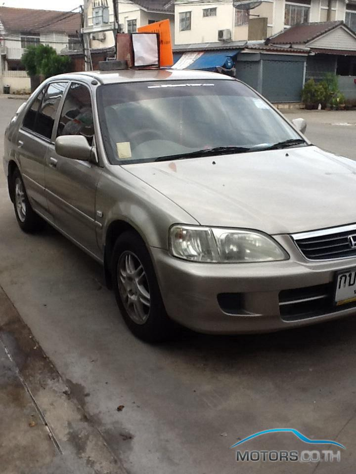 Secondhand HONDA CITY (2002)