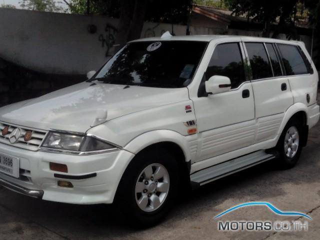 รถมือสอง, รถยนต์มือสอง SSANGYONG MUSSO (1998)