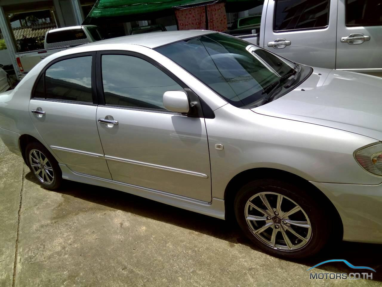 New, Used & Secondhand Cars TOYOTA ALTIS (2003)