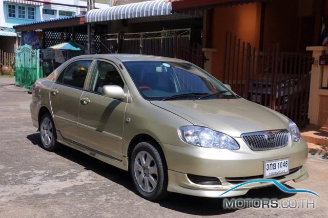 Secondhand TOYOTA ALTIS (2006)