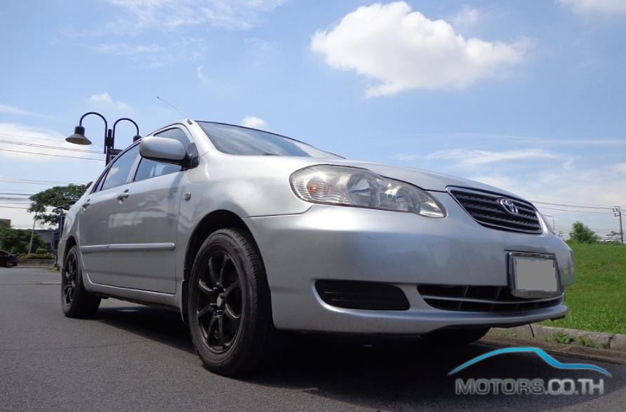New, Used & Secondhand Cars TOYOTA COROLLA (2002)