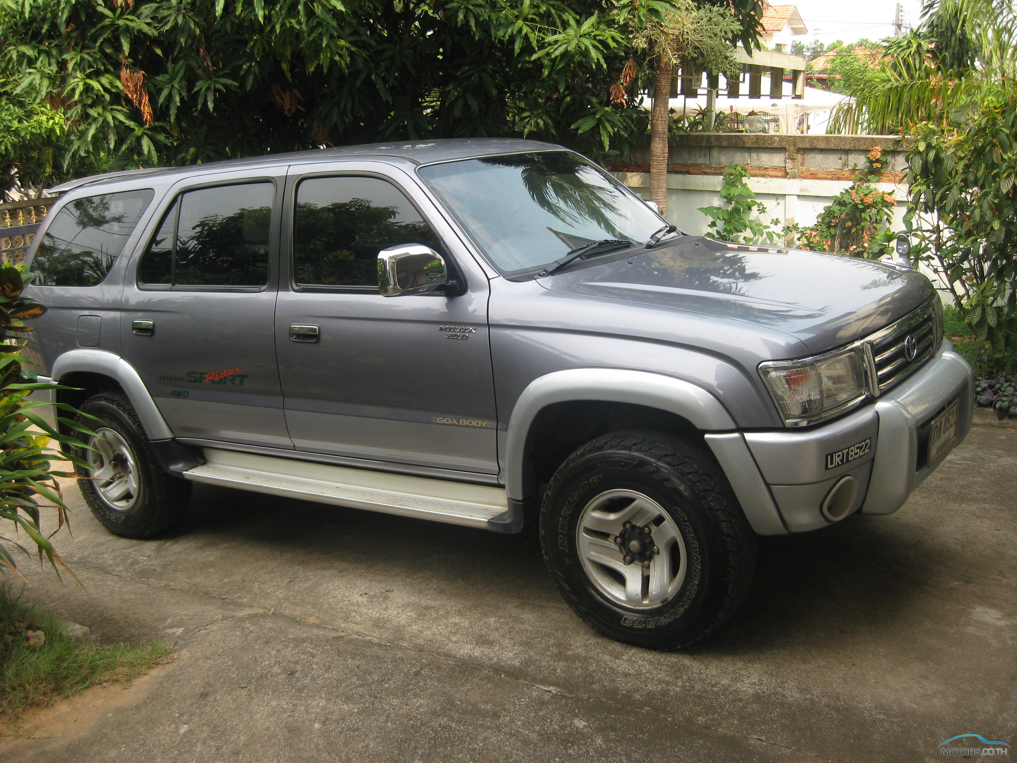Toyota Hilux Sport Rider 2000 Motors Co Th