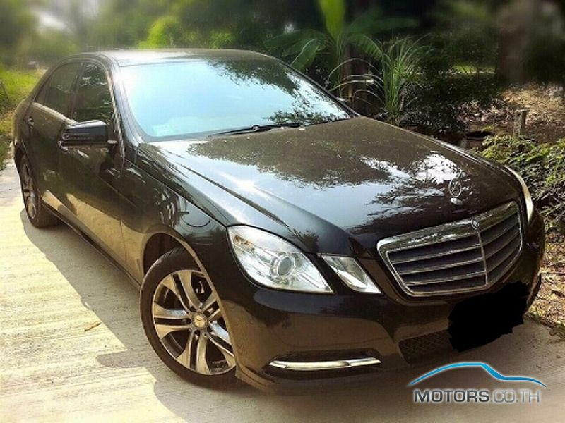 Secondhand MERCEDES-BENZ E CLASS (2012)