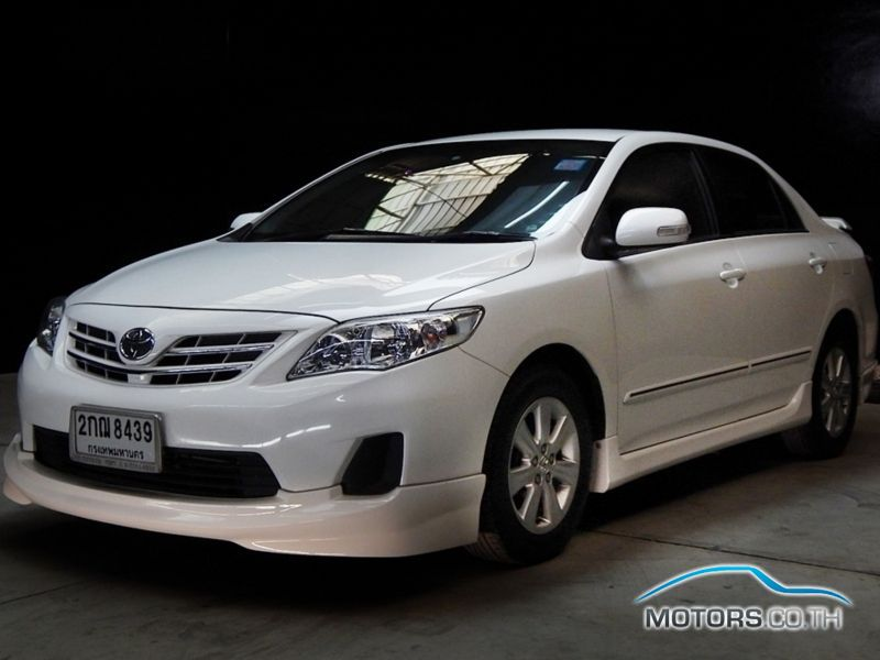รถใหม่, รถมือสอง TOYOTA ALTIS (2013)