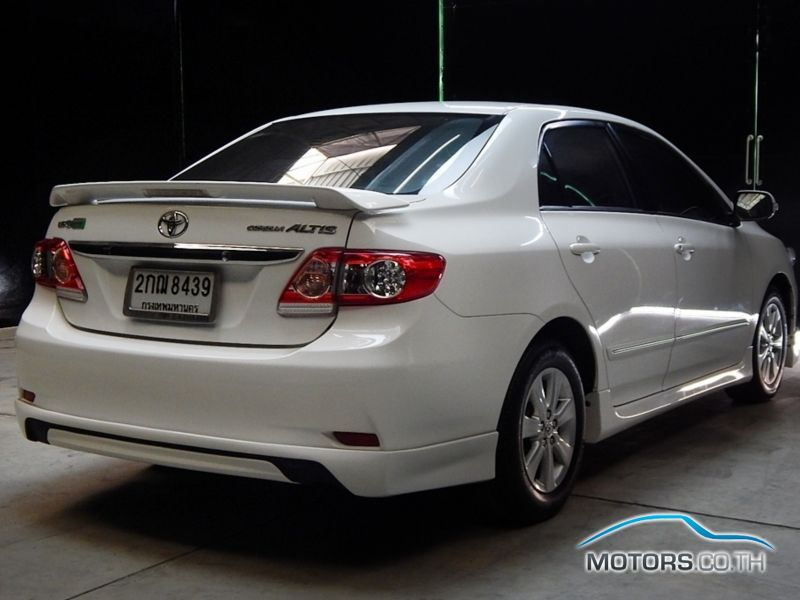Toyota Altis 2013 Motors Co Th