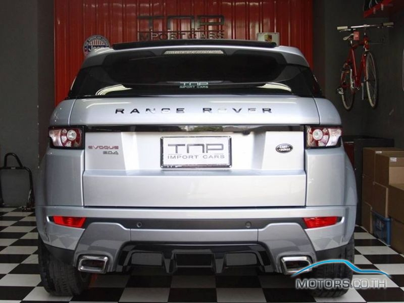 รถใหม่, รถมือสอง LAND ROVER RANGE ROVER (2012)