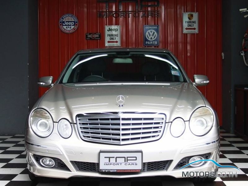 Secondhand MERCEDES-BENZ E CLASS (2008)