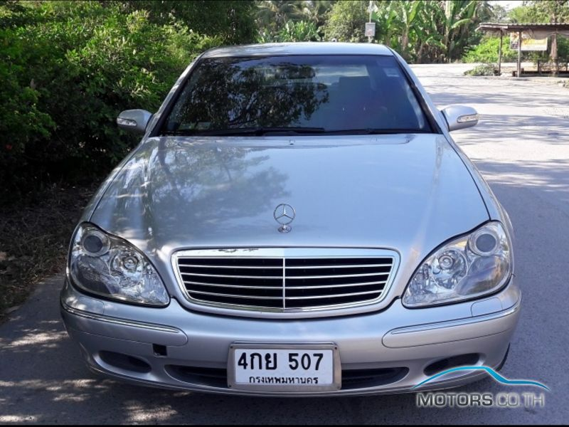 Secondhand MERCEDES-BENZ S CLASS (2000)