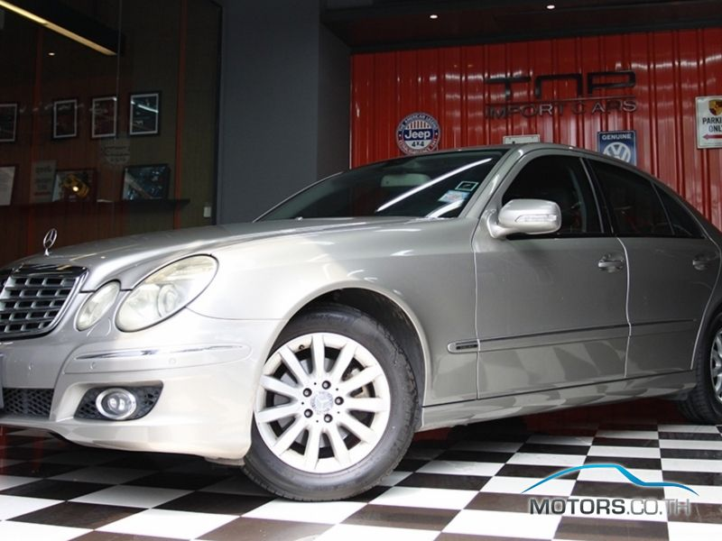 mercedes benz e class 2008. Black Bedroom Furniture Sets. Home Design Ideas