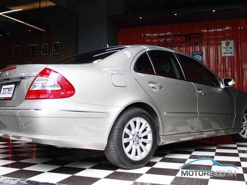 รถใหม่, รถมือสอง MERCEDES-BENZ E CLASS (2008)