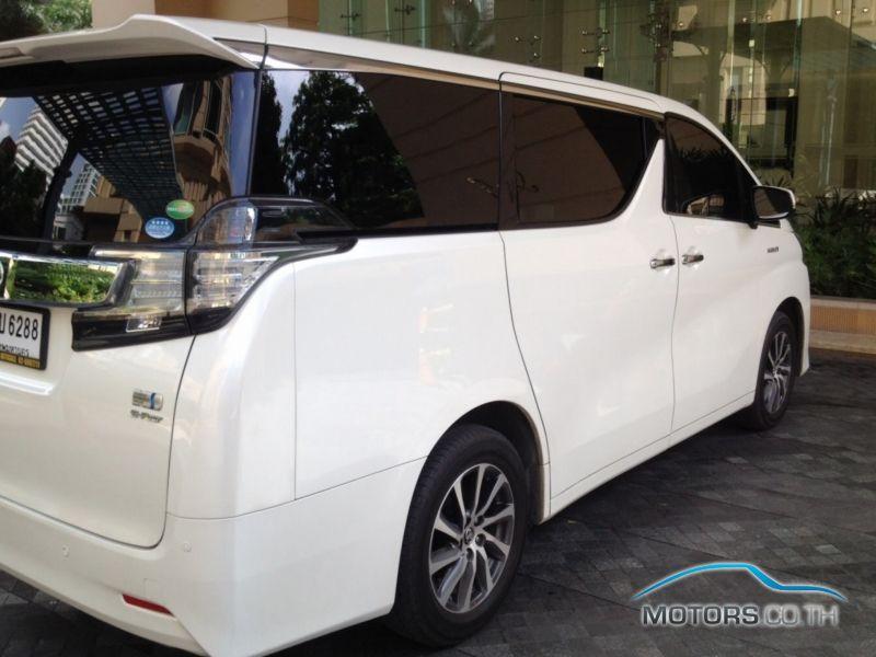 รถใหม่, รถมือสอง TOYOTA VELLFIRE (2015)