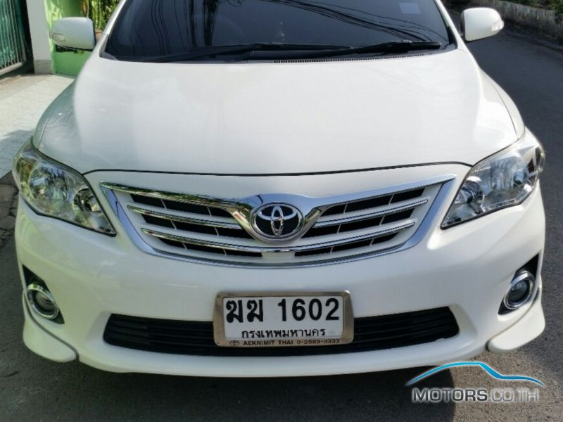 Secondhand TOYOTA ALTIS (2012)