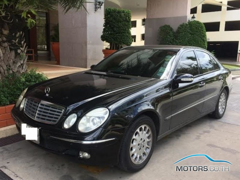 New, Used & Secondhand Cars MERCEDES-BENZ E CLASS (2003)