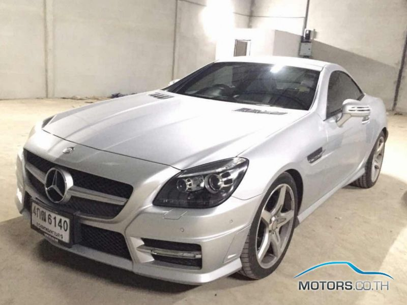 Secondhand MERCEDES-BENZ SLK CLASS (2013)