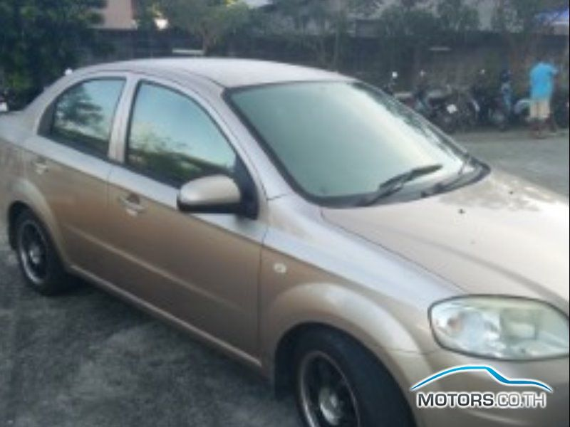 Secondhand CHEVROLET AVEO (2006)