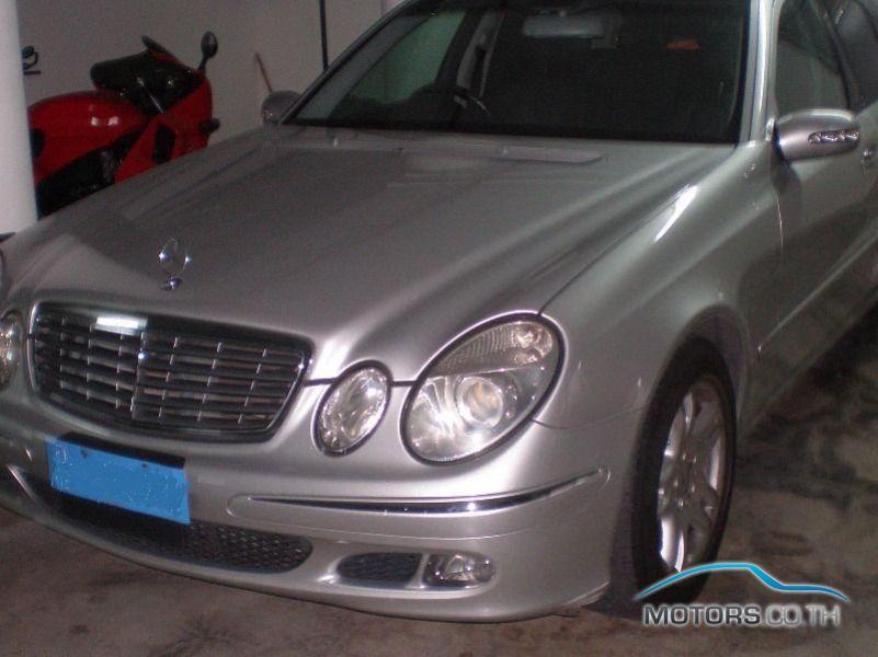 รถมือสอง, รถยนต์มือสอง MERCEDES-BENZ E240 (2005)