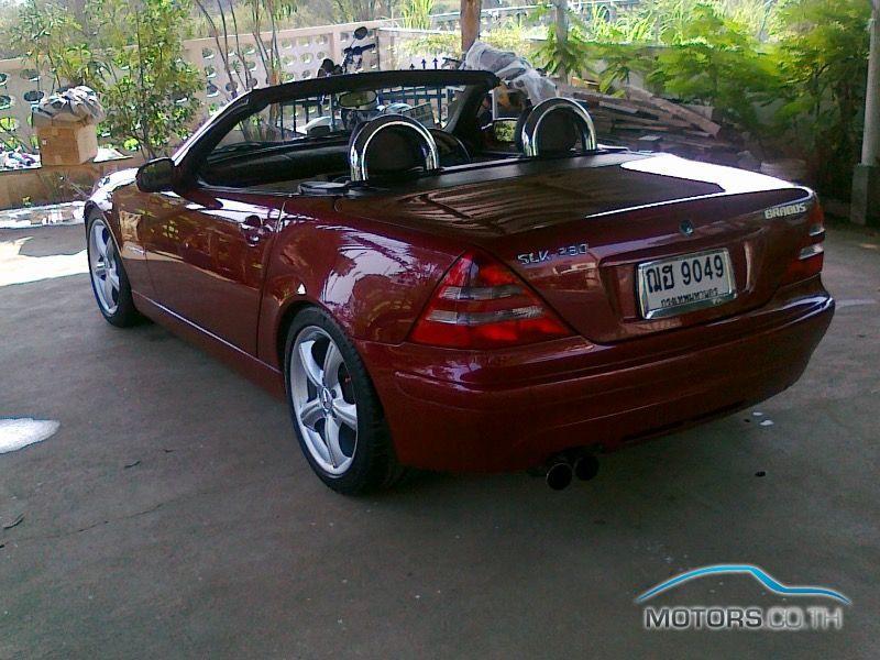 Mercedes benz slk230 kompressor 2001 for 2001 mercedes benz slk230