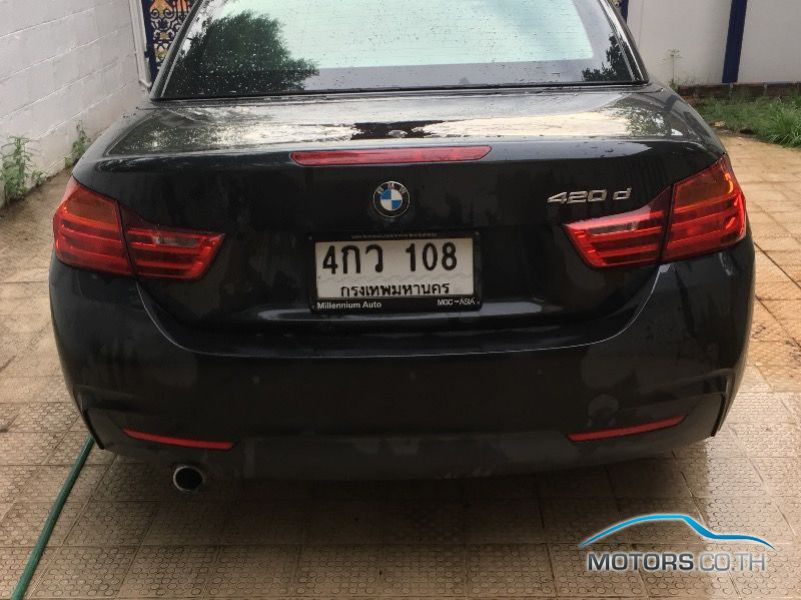 รถมือสอง, รถยนต์มือสอง BMW 420D (2015)