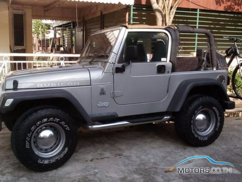 Secondhand JEEP WRANGLER (2001)