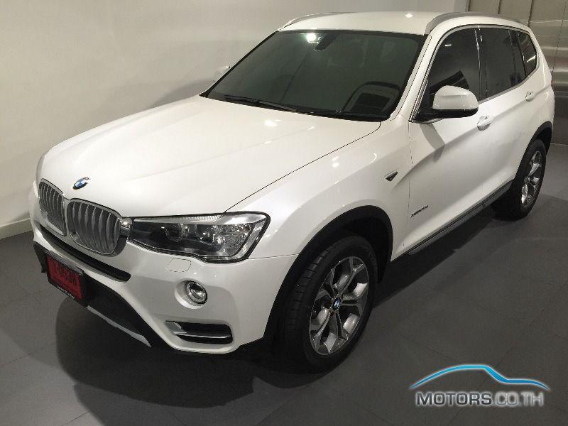 รถใหม่, รถมือสอง BMW X3 (2015)