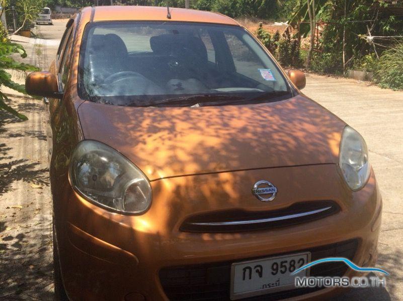 รถใหม่, รถมือสอง NISSAN MARCH (2012)