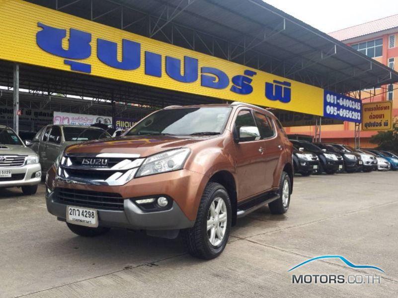 รถมือสอง, รถยนต์มือสอง ISUZU MU-X (2013)
