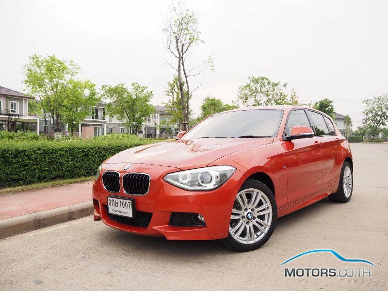 Secondhand BMW 116I (2014)