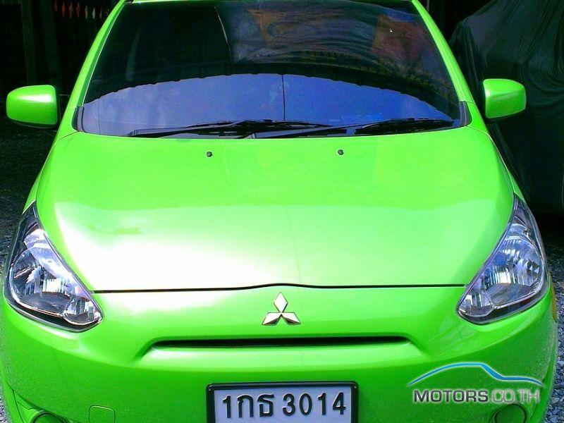 รถมือสอง, รถยนต์มือสอง MITSUBISHI MIRAGE (2013)
