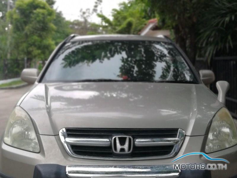 รถใหม่, รถมือสอง HONDA CR-V (2001)