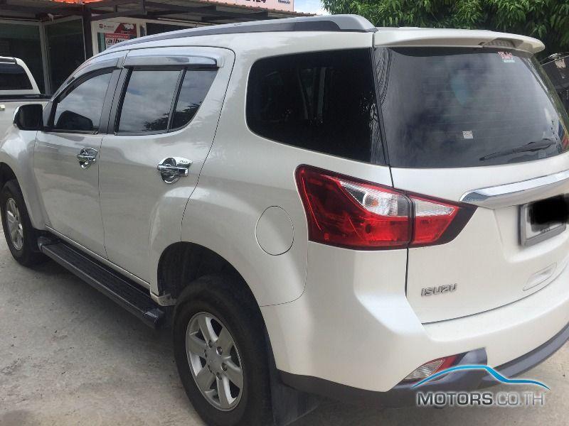 รถใหม่, รถมือสอง ISUZU MU-X (2015)