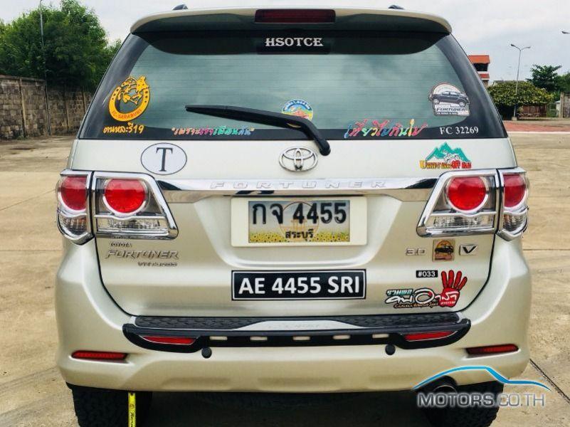 รถใหม่, รถมือสอง TOYOTA FORTUNER (2006)