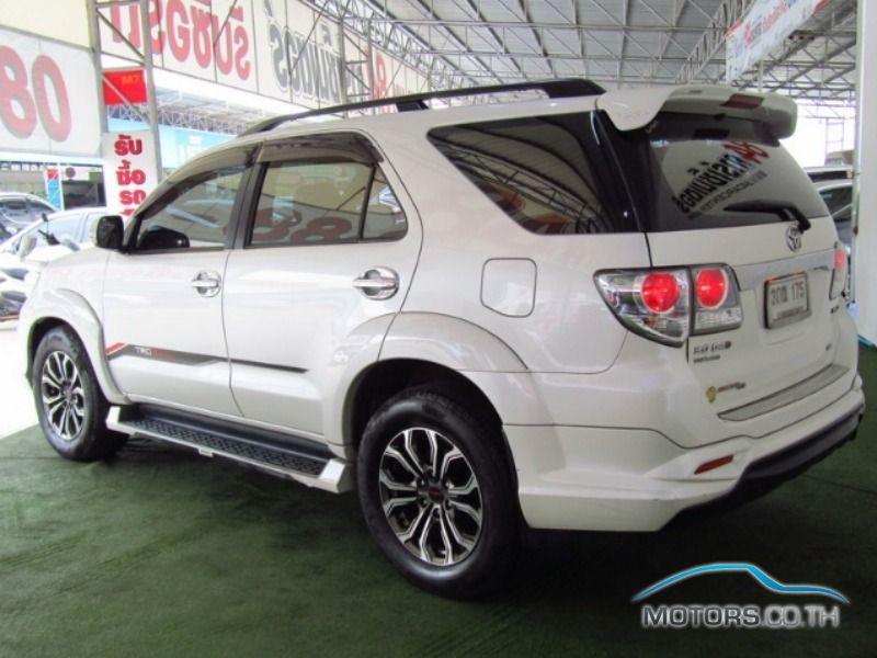 รถใหม่, รถมือสอง TOYOTA FORTUNER (2014)