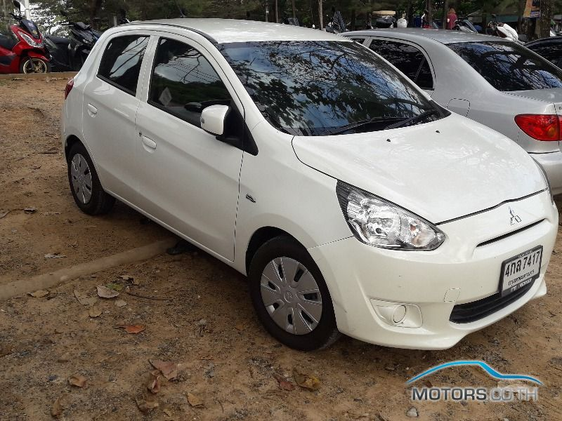 Secondhand MITSUBISHI MIRAGE (2015)