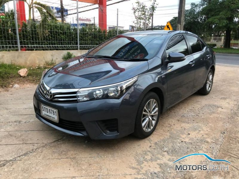 Secondhand TOYOTA ALTIS (2016)