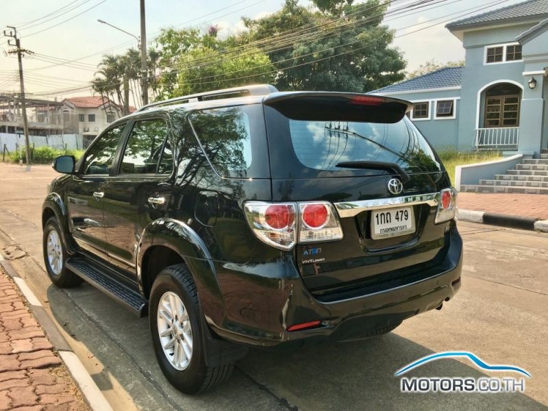 รถใหม่, รถมือสอง TOYOTA FORTUNER (2012)