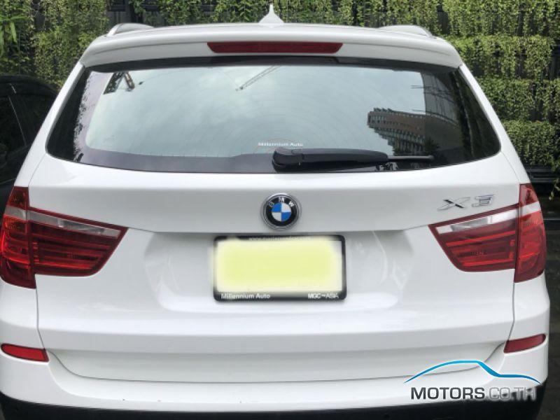 รถใหม่, รถมือสอง BMW X3 (2012)