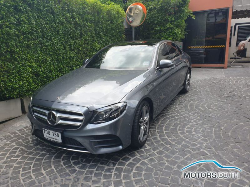 Secondhand MERCEDES-BENZ E350 AMG (2018)