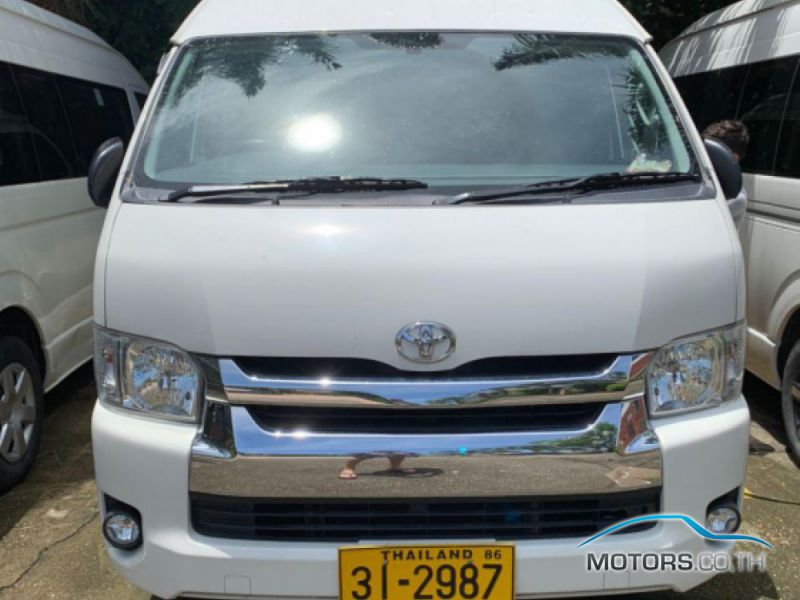 Secondhand TOYOTA COMMUTER (2018)