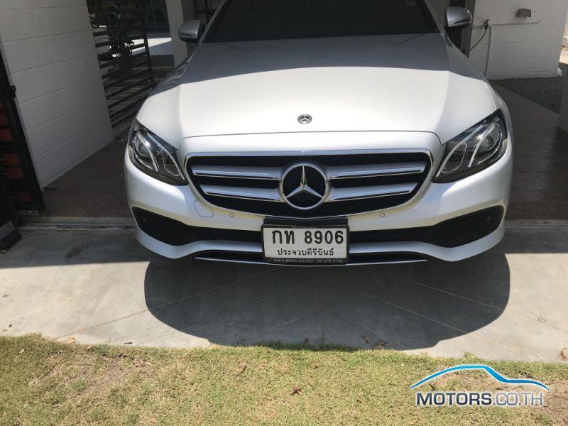 รถมือสอง, รถยนต์มือสอง MERCEDES-BENZ E350 (2018)